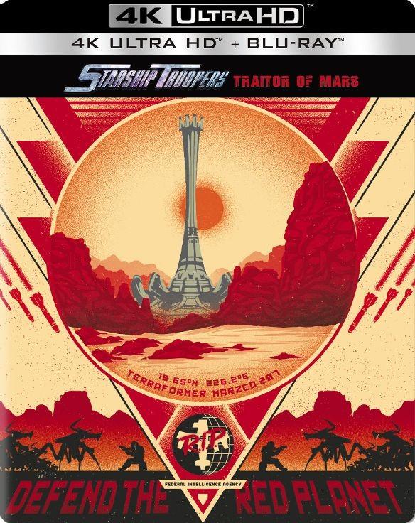 Starship Troopers: Traitor of Mars Steelbook (4K UHD + Blu-ray) $14.99 + Free Store Pickup @ Best Buy