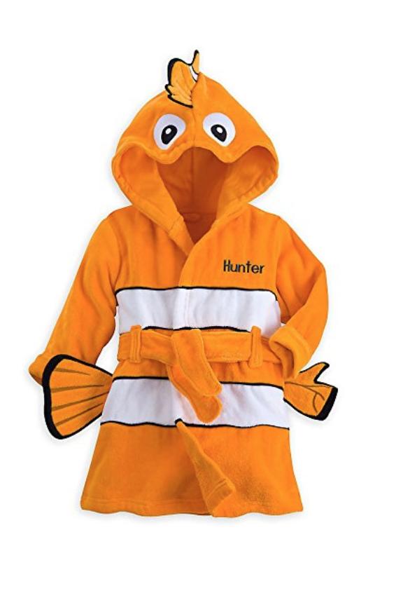 Disney Nemo Bath Robe for Baby (6-9 Months) $9.99 + Free Shipping