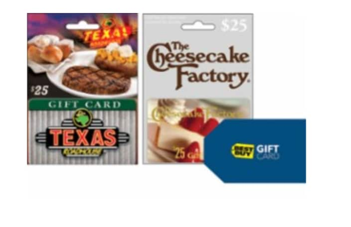 Free $10 Best Buy Gift Card When You Spend $50 on Select Restaurant Gift Cards