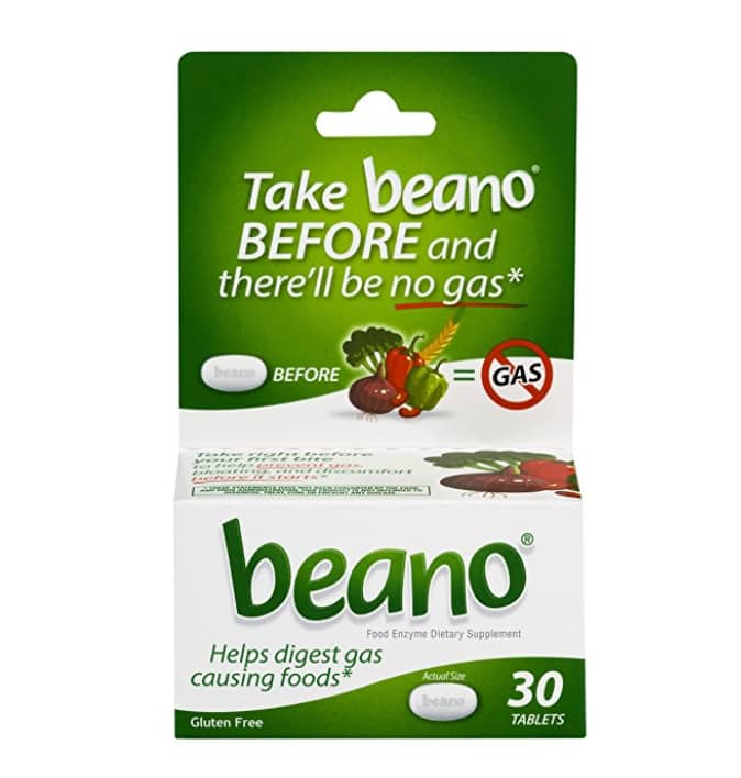 30-Ct Beano Gas Relief $0.99 after Coupon & Cartwheel @ Target Stores B&M