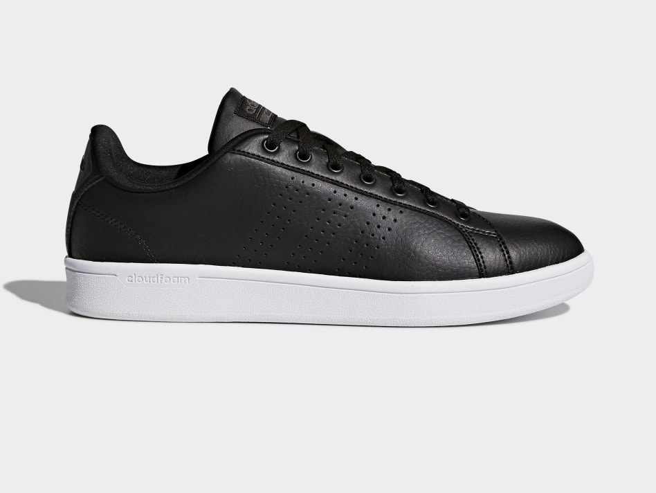 adidas Men's Cloudfoam Advantage Clean Shoes (black) $19.99 + Free Shipping