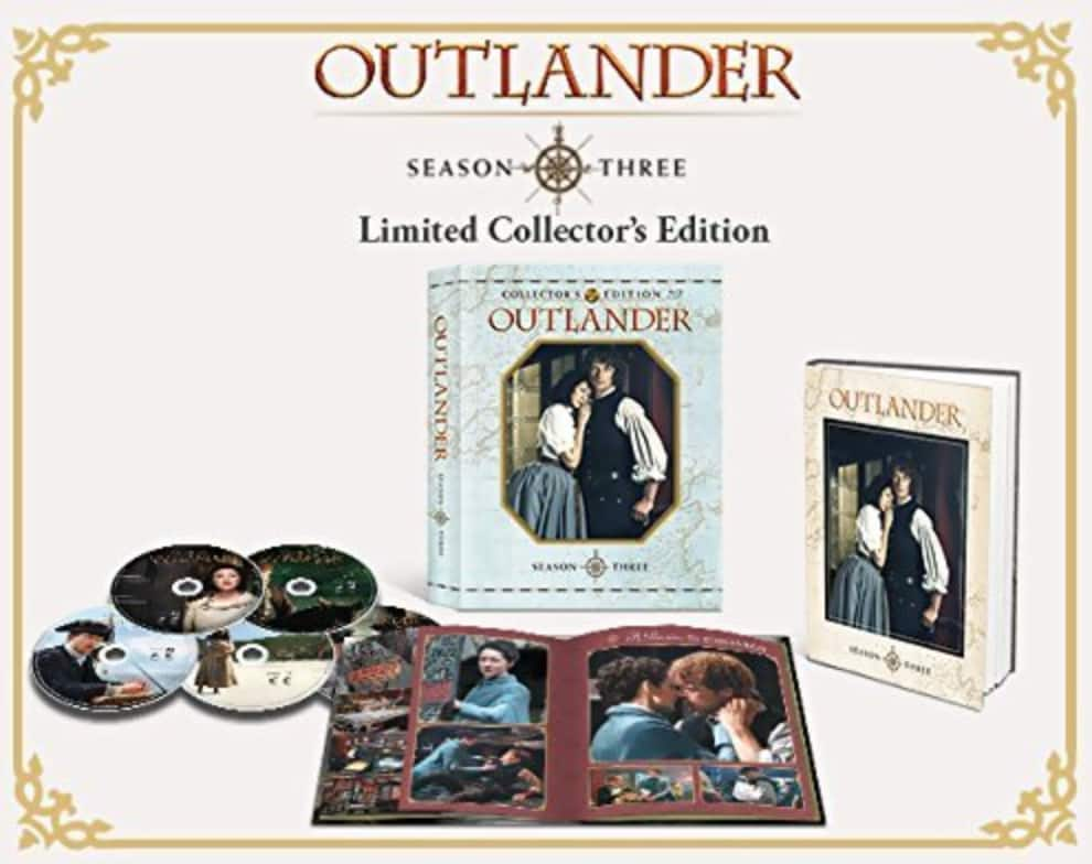 Outlander: Season 3 Limited Collector's Edition Pre-Order (Bu-ray) $34.99 + Free Shipping