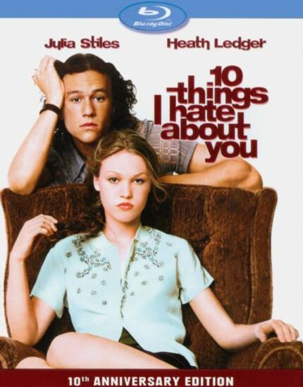 $5.99 Blu-ray Movies: 10 Things I Hate About You 10th Anniversary Edition, Miller's Crossing, Birdcage, Moonstruck, The Breakfast Club & More + Free Store Pickup @ Best Buy