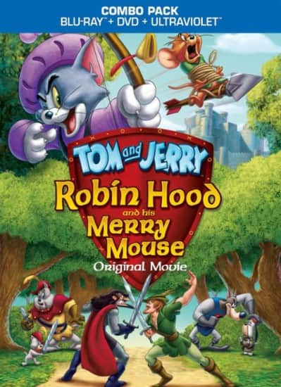 Tom and Jerry: Robin Hood and His Merry Mouse (Blu-ray + DVD + Digital HD) or Tom and Jerry: The Fast and the Furry (Blu-ray) $4.99 Each + Free Store Pickup @ Best Buy