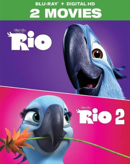 Rio: 2-Movie Collection (Blu-ray + Digital HD) $9.99, Madagascar: The Complete Collection (Blu-ray) $12.99 + Free Store Pickup @ Best Buy