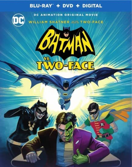 Batman vs. Two-Face (Blu-ray + DVD + Digital HD) $9.99 @ Amazon