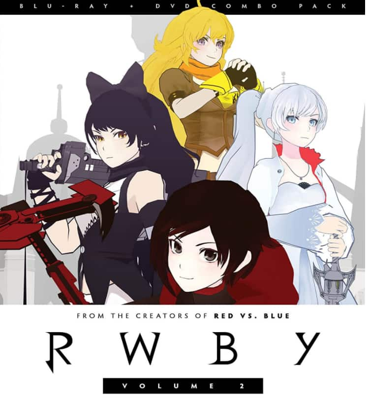 Add-On Item: Anime: RWBY: Volume 2 (Blu-ray + DVD) $4.99 @ Amazon
