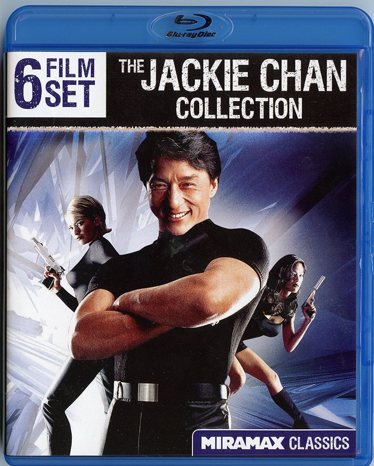 The Jackie Chan 6-Film Collection Set (Blu-ray) $5.95 + $4 S/H