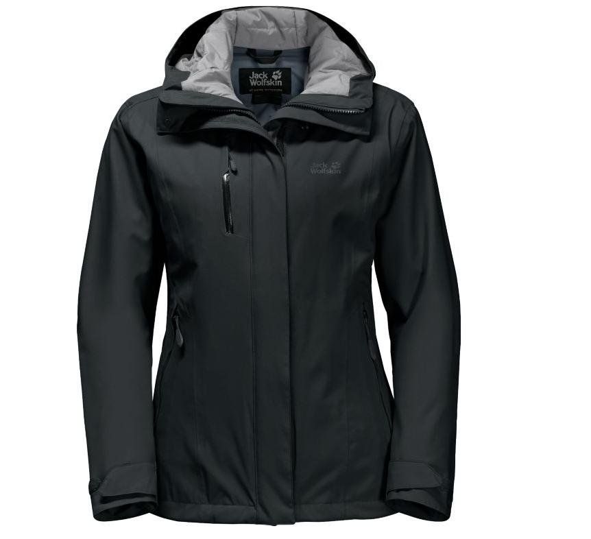 Jack Wolfskin Women's Troposphere Jacket (Black) $12.88 + Free Store Pickup @ Cabelas