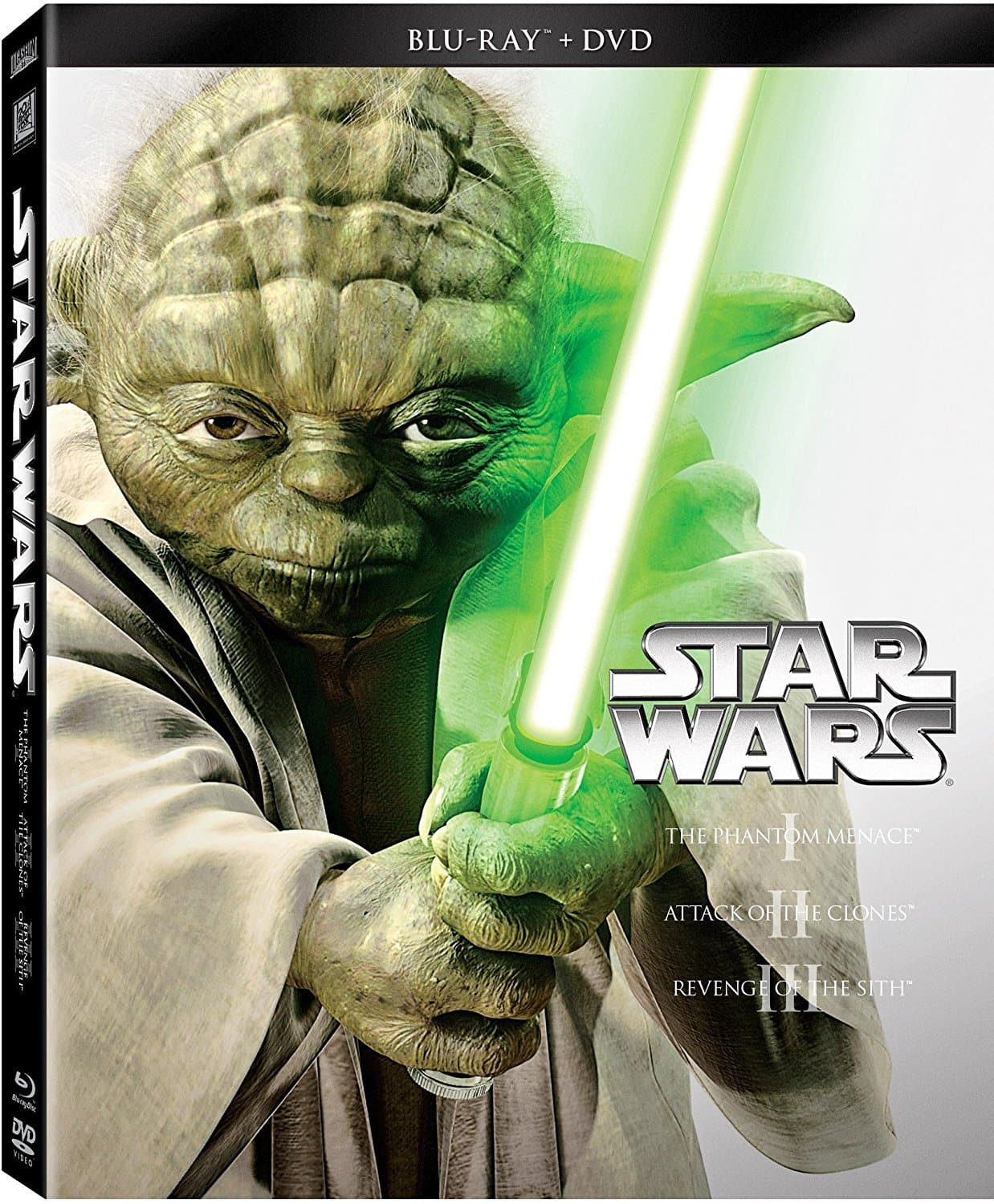 Star Wars Trilogy Episodes I - III (Blu-ray + DVD) $14.39, IV-VI (Blu-ray + DVD) $18.79 & More + Free Shipping