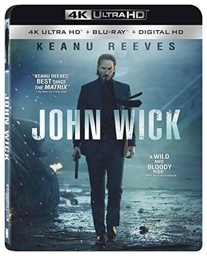 Fry's Email Exclusive: John Wick (4K UHD + Blu-ray + Digital HD) or 3:10 to Yuma (4K UHD + Blu-ray + Digital HD) $9.99 Each + Free Store Pickup @ Fry's