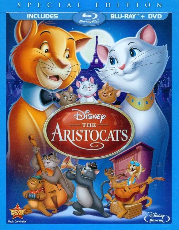 Disney Blu-rays: The Aristocats SE, Maleficent or Cinderella