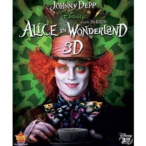 Alice in Wonderland (3D Blu-ray) $7.99 @ Amazon
