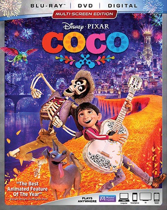Coco (Blu-ray + DVD + Digital HD) $18.99 + Free Store Pickup @ Best Buy