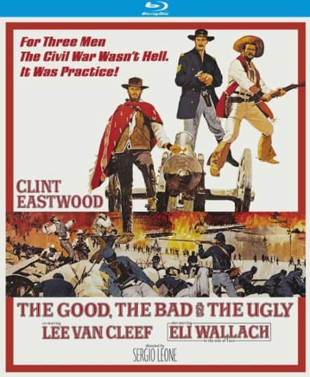 The Good, the Bad and the Ugly 50th Anniversary Edition (Blu-ray) $10.99 + Free Store Pickup @ Best Buy
