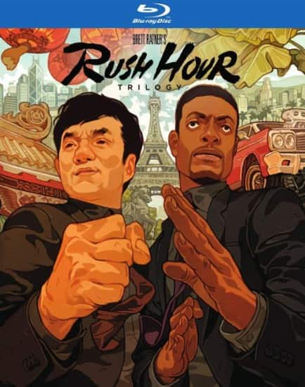 Rush Hour Trilogy (Blu-ray) + The Matrix Collection: 4 Film Favorites (Blu-ray) $18 & More + Free Store Pickup @ Best Buy