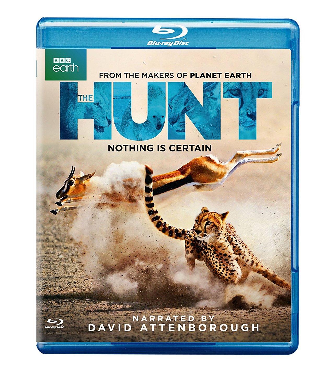 BBC Earth Documentary: The Hunt by David Attenborough (Blu-ray) $9.99 @ Amazon