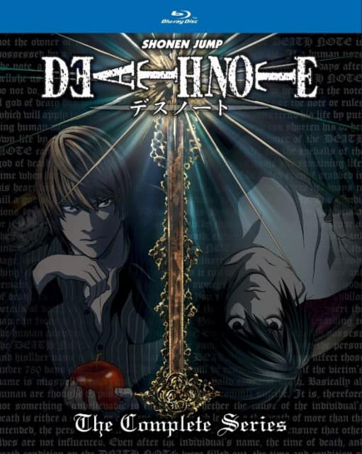 Anime: Death Note: The Complete Series (Blu-ray) $23.99 + Free Store Pickup @ Best Buy