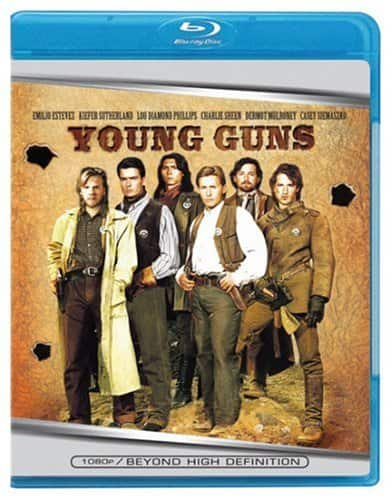 Young Guns (Blu-ray) $4.96 @ Walmart & Amazon