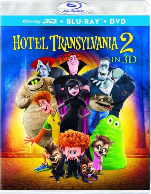 Hotel Transylvania 2 (Bluray 3D + Blu-ray + DVD + Digital HD) $7.99 @ Amazon