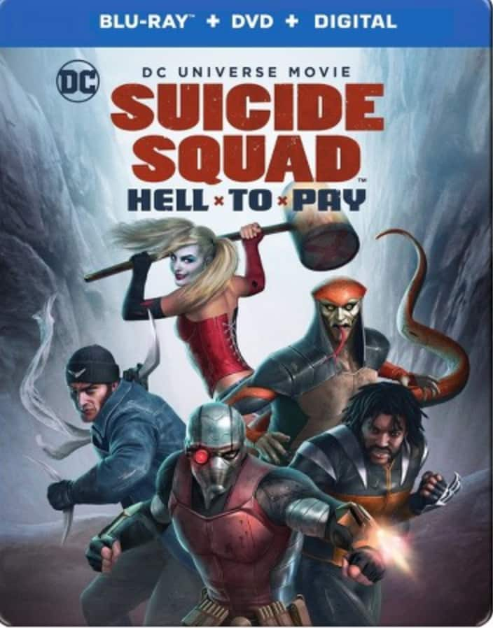 Target REDcard Holders: DCU: Suicide Squad: Hell To Pay Target Exclusive Steelbook (Blu-ray + DVD + Digital HD) $11.39 + Free Shipping