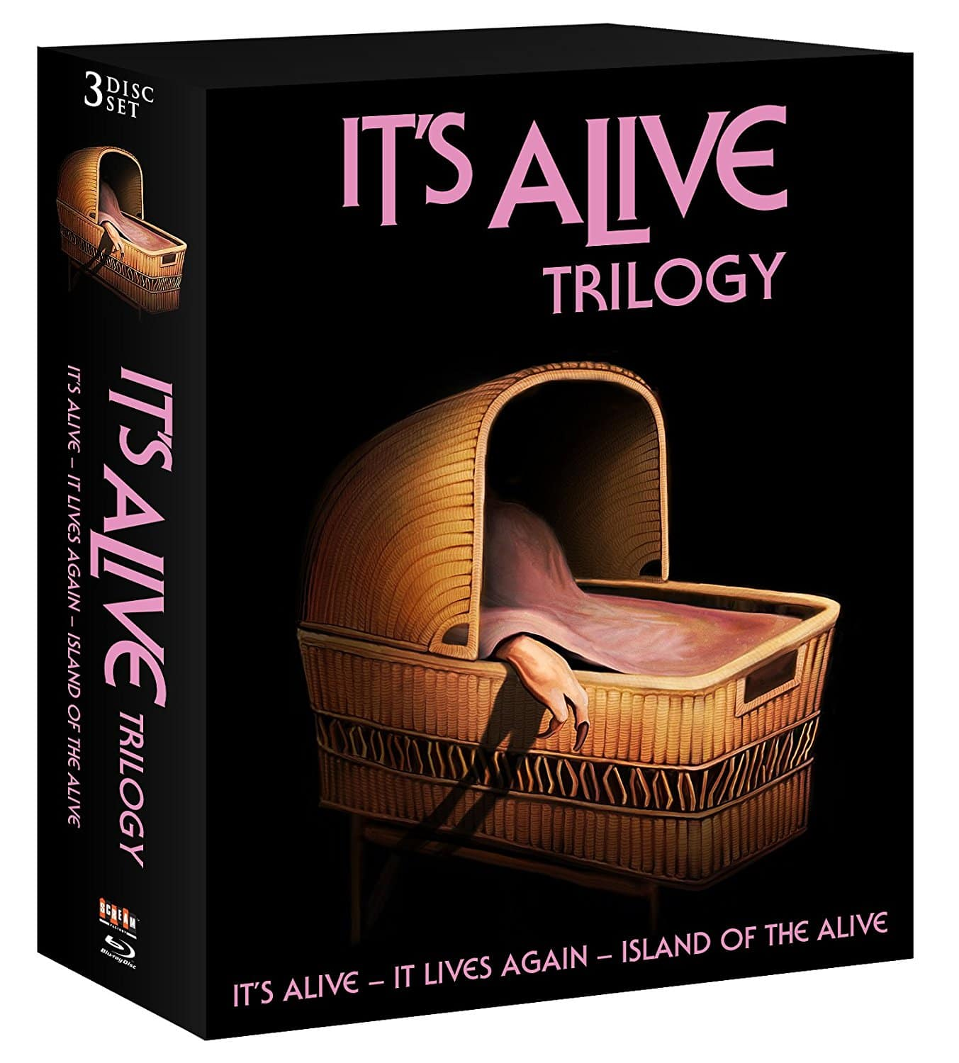 Target REDcard Holders: Shout! Factory: It's Alive Trilogy Pre-Order (Blu-ray) $23.90 + Free Shipping