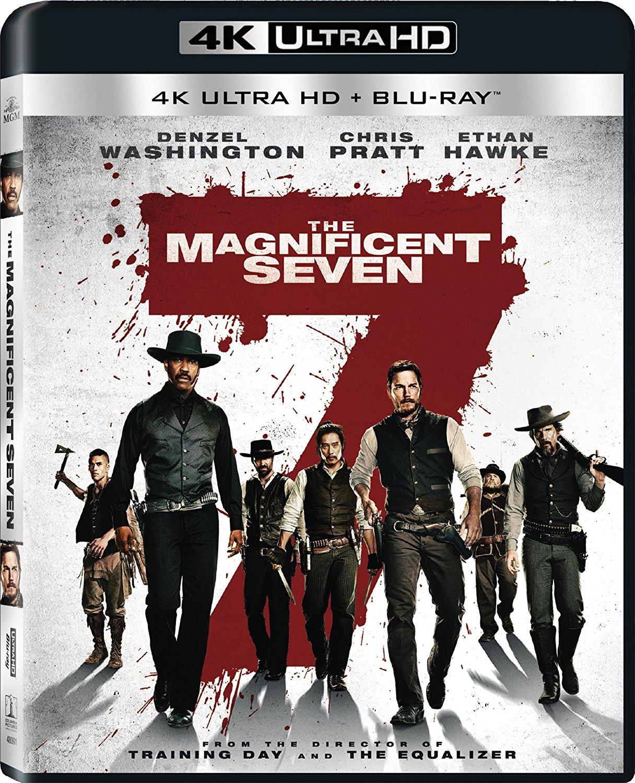 The Magnificent Seven (4K Ultra HD + Blu-ray + Digital HD) $9.99 + Free Store Pickup @ Fry's