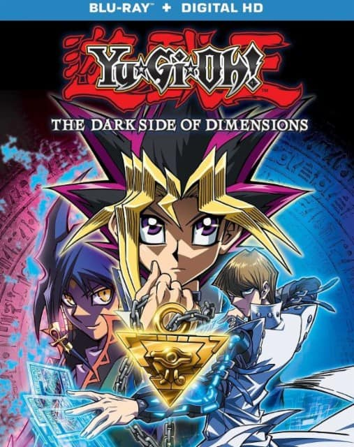 Yu-Gi-Oh!: The Dark Side of Dimensions (Blu-ray + Digital HD) $8.99 + Free Store Pickup @ Best Buy