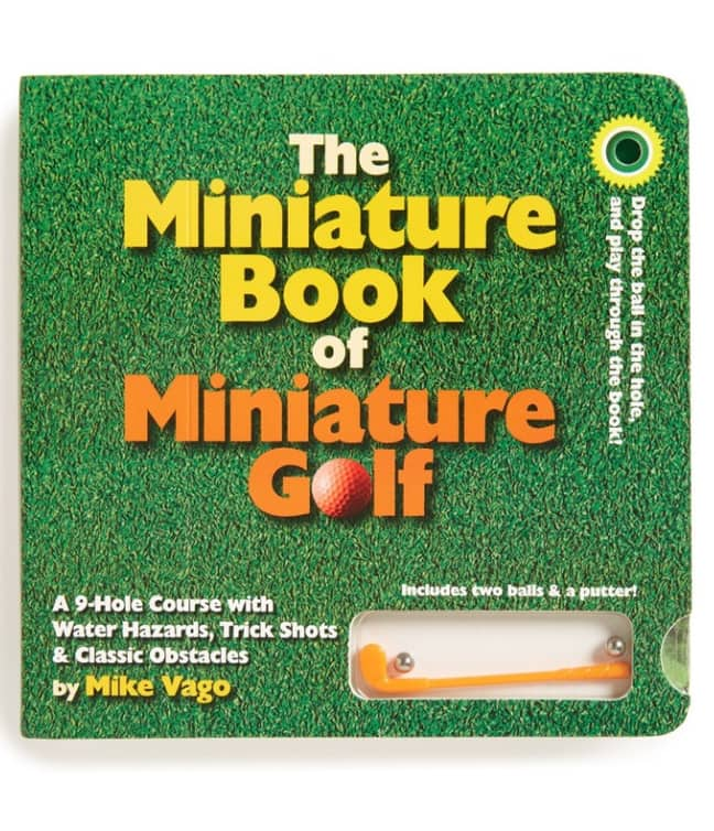 The Miniature Book of Miniature Golf $6.89 @ Amazon