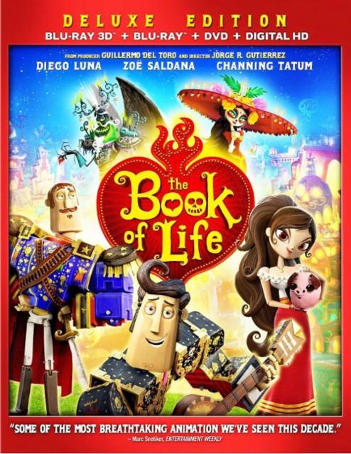 The Book Of Life (Blu-ray 3D + Blu-ray + DVD + Digital HD) $9.99 @ Amazon