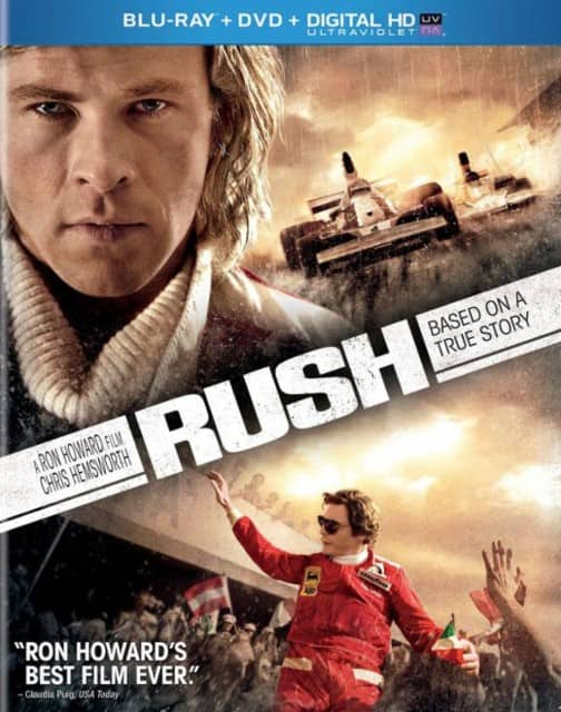Rush (Blu-ray + DVD + Digital HD) $4.99 + Free Store Pickup @ Best Buy