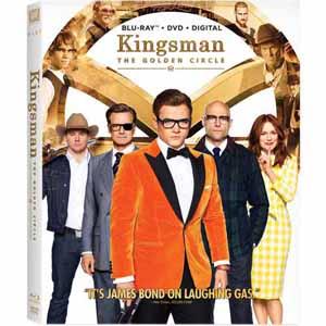 Kingsman: The Golden Circle (Blu-ray + DVD + Digital HD) $4.99 & More + Free Store Pickup @ Fry's