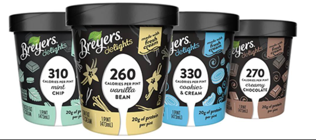 Pint of Breyers Delights Ice Cream (various flavors) - Page