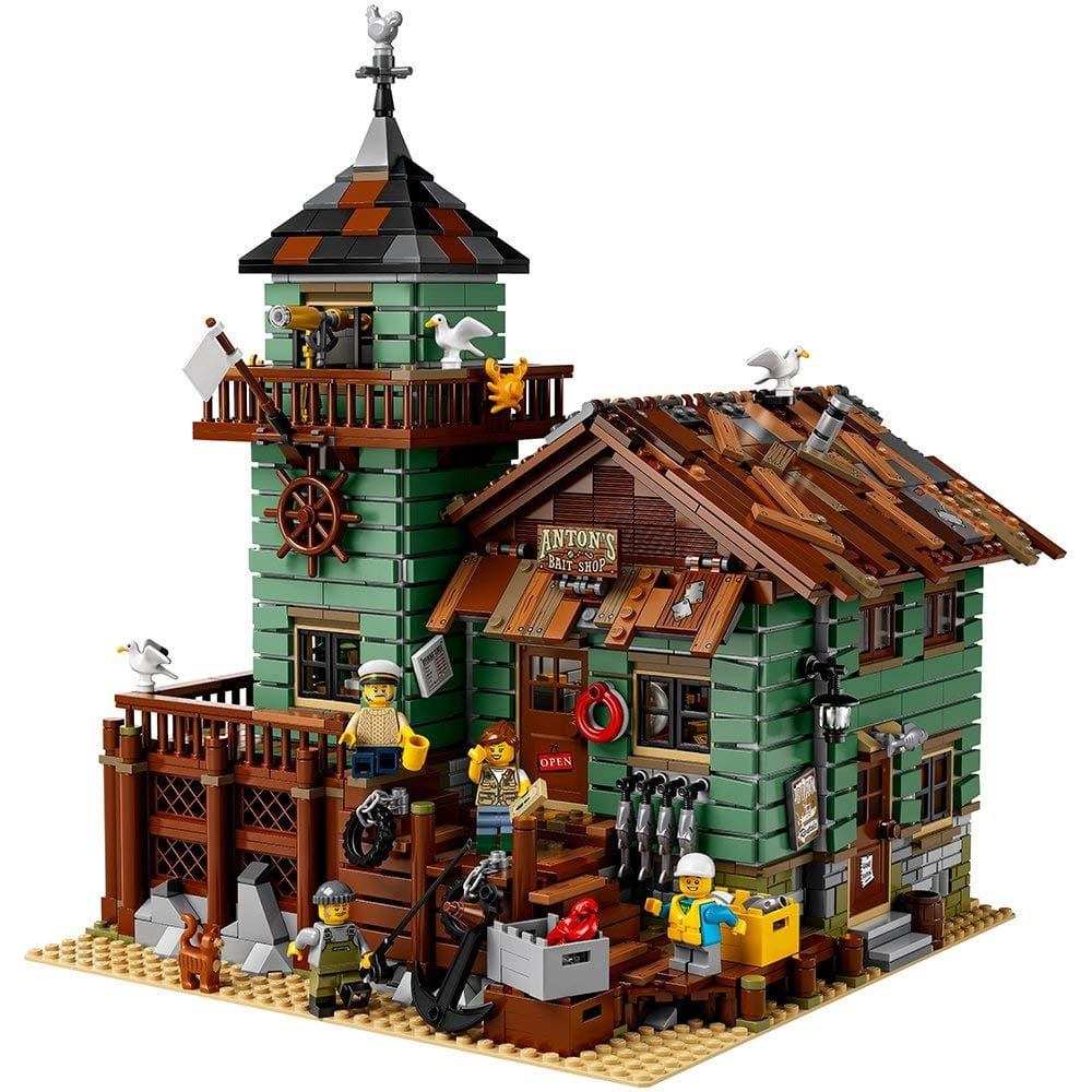 LEGO Ideas Old Fishing Store Building Set + $30 Best Buy Gift Card $149.99 & More + Free shipping @ Best Buy