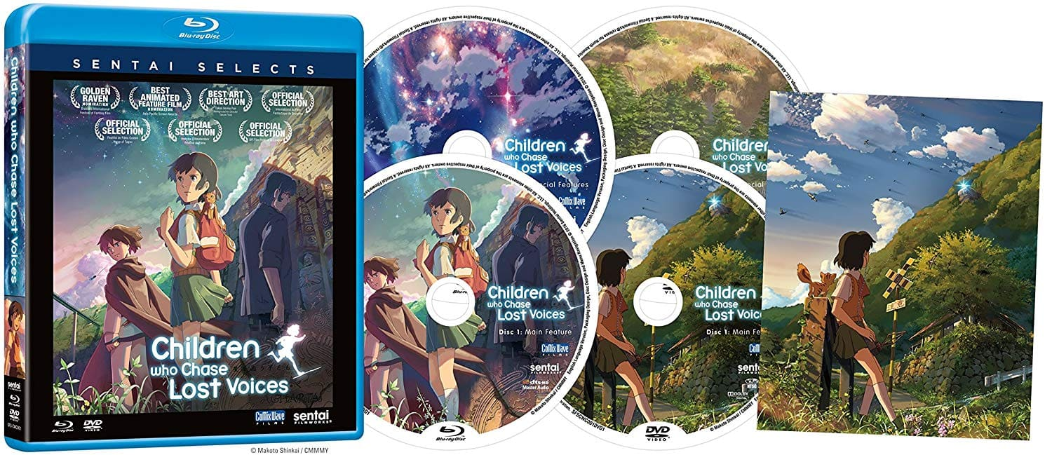Amazon Prime Members: Anime: Children Who Chase Lost Voices (Blu-ray) $7.99 + Free Shipping @ Amazon