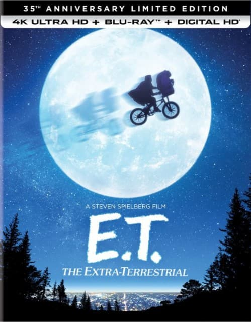 2 for $20 4K Movies: E.T. the Extra-Terrestrial 35th Anniversary Limited Edition, Trolls, Warcraft & More + Free Store Pickup @ Best Buy