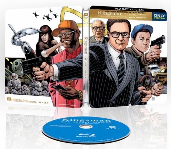Steelbook Blu-ray: The Longest Day, X-Men: Days of Future Past, Kingsman: The Secret Service & More $7.99 Each + Free Store Pickup @ Best Buy