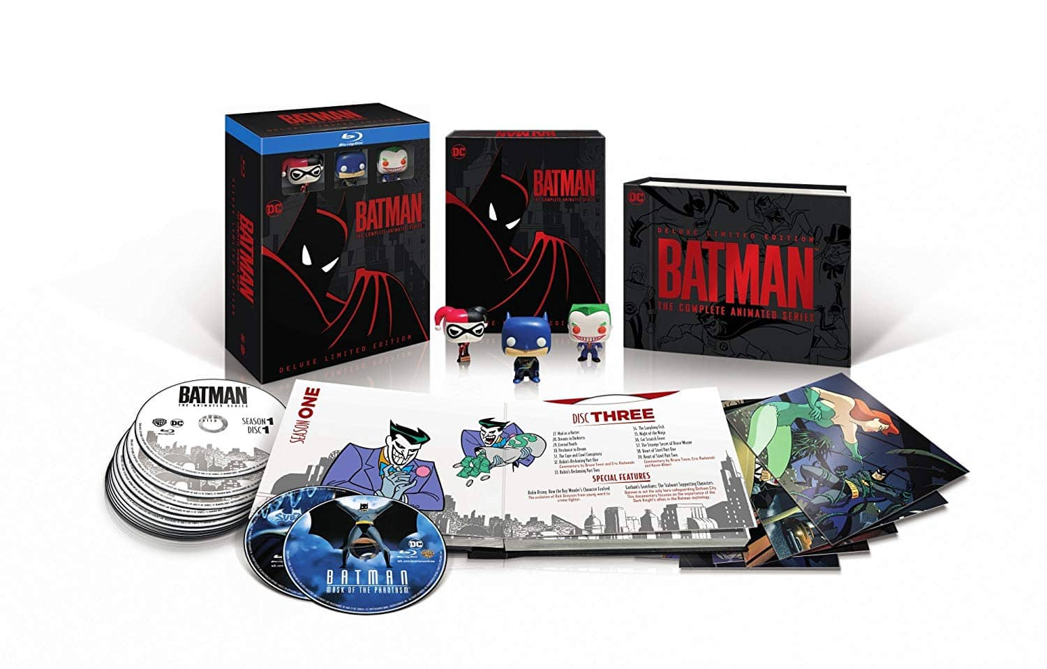 Batman: The Complete Animated Series Pre-Order (Blu-ray Deluxe Limited Edition) $87.53