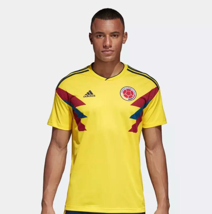 6af0251017c1c adidas Men's Soccer Jerseys (Home): Colombia, Argentina, Belgium ...