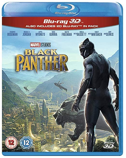Region Free: Black Panther (Blu-ray 3D + Blu-ray) or Star Wars: The Last Jedi (Blu-ray 3D + Blu-ray) $17.65 Each Shipped @ Amazon UK