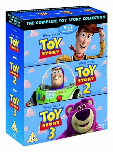 The Complete Toy Story Collection (Region-Free Blu-ray) $18.85 Shipped @ Amazon UK