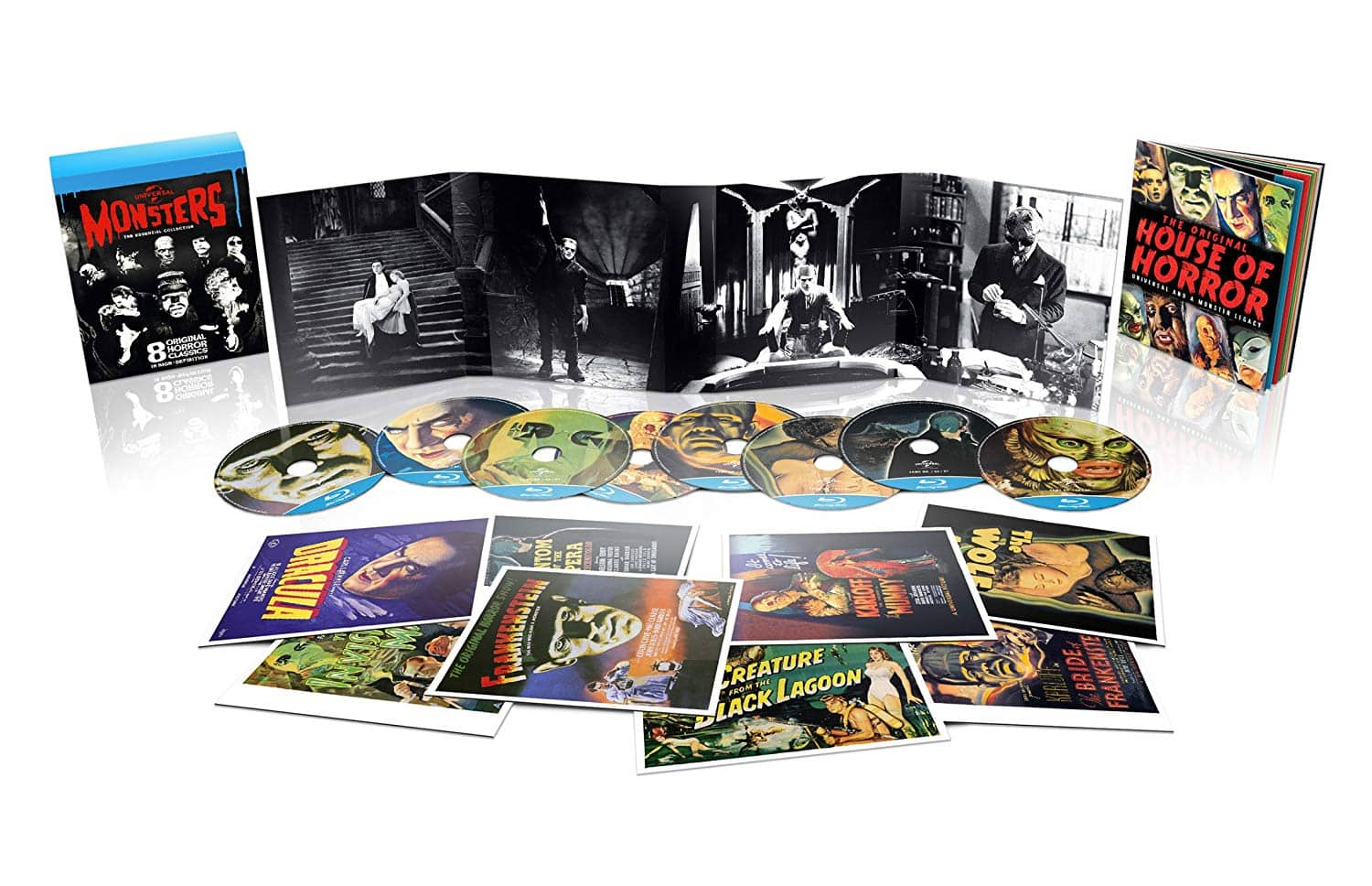 Universal Monsters: The Essential Collection (8-Disc Region Free Blu-ray) $16.98 Shipped