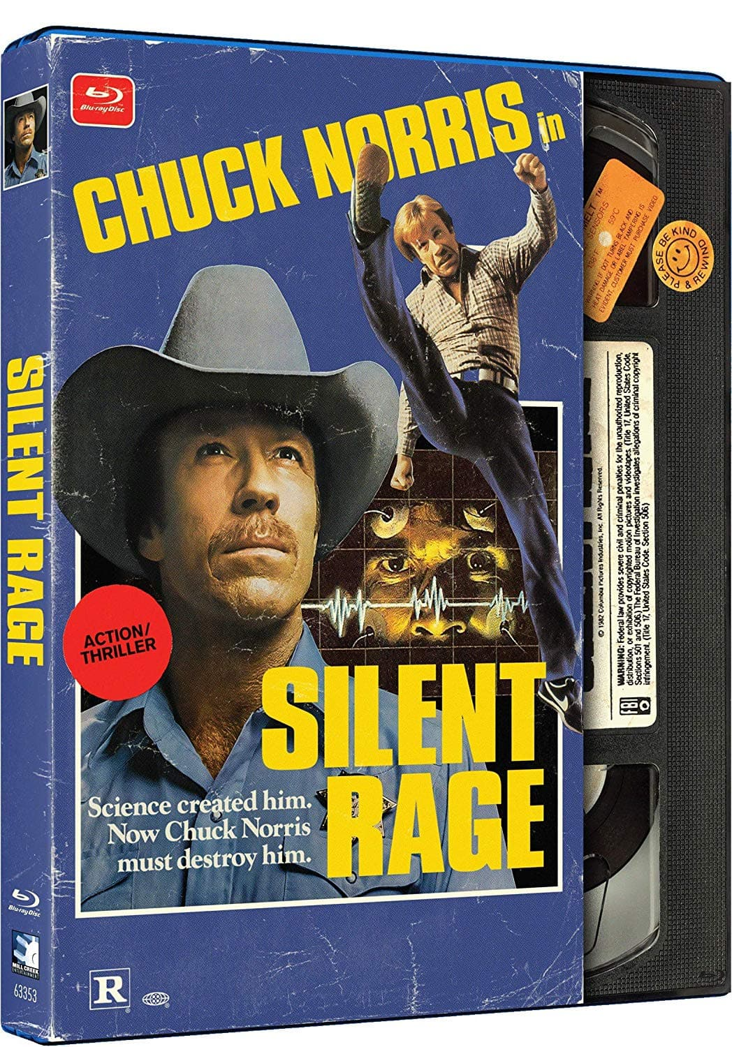 Silent Rage Retro VHS Look Pre-Order (Blu-ray) $7.50 & More + Free Shipping @ Amazon