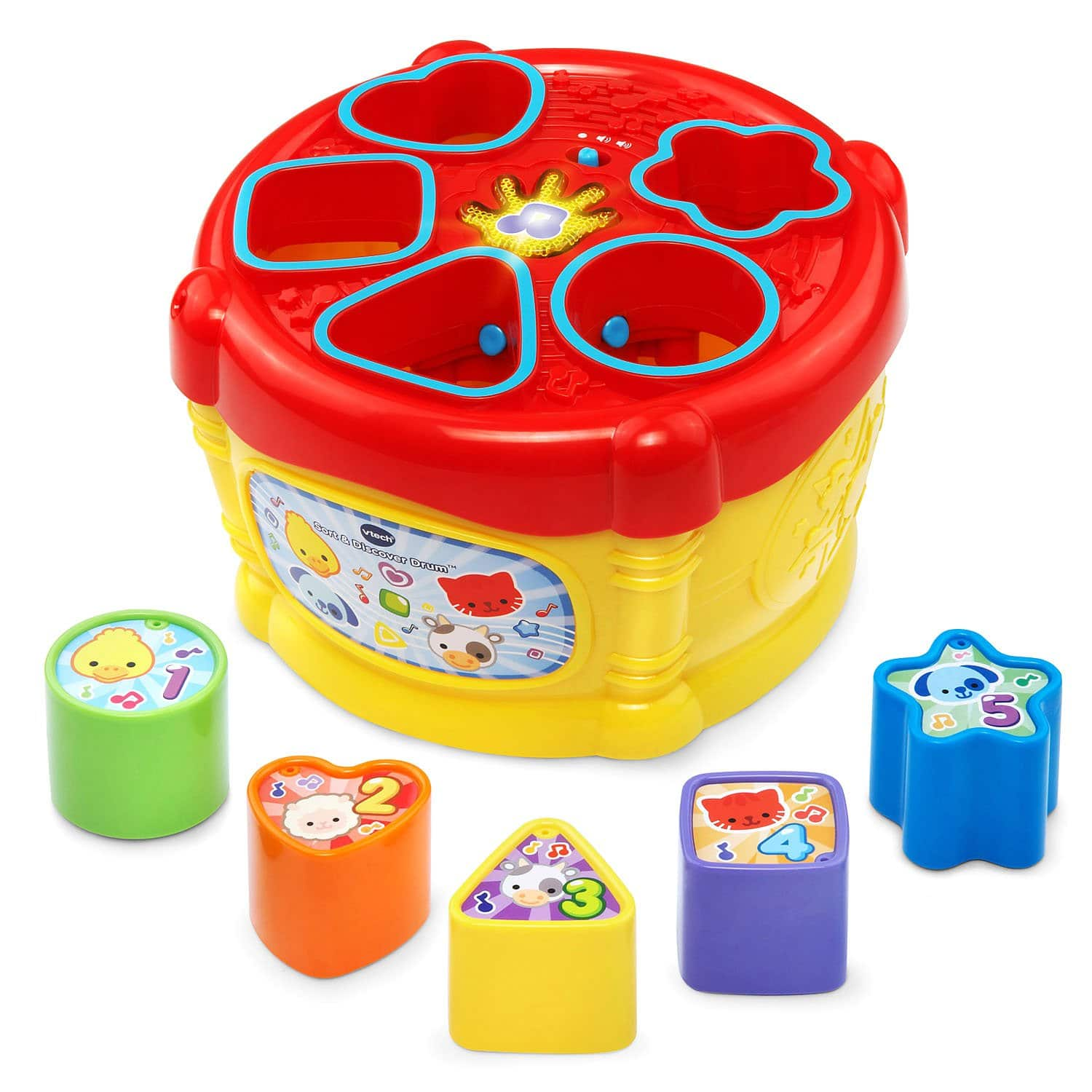 VTech Sort and Discover Drum $5.19 + Free Store Pickup @ Target