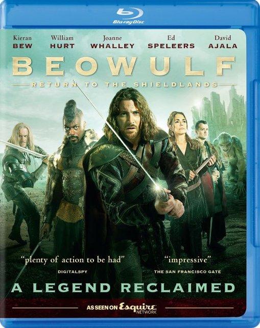 Beowulf: Return to the Shieldlands (TV Mini-Series Blu-ray) $4.99 + Free Store Pickup @ Best Buy