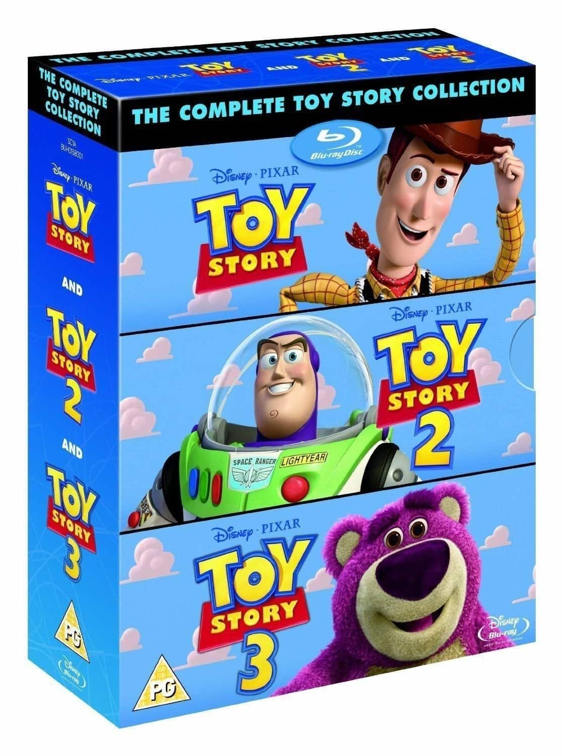 toy story 1 2 and 3 collection region free blu ray slickdeals net