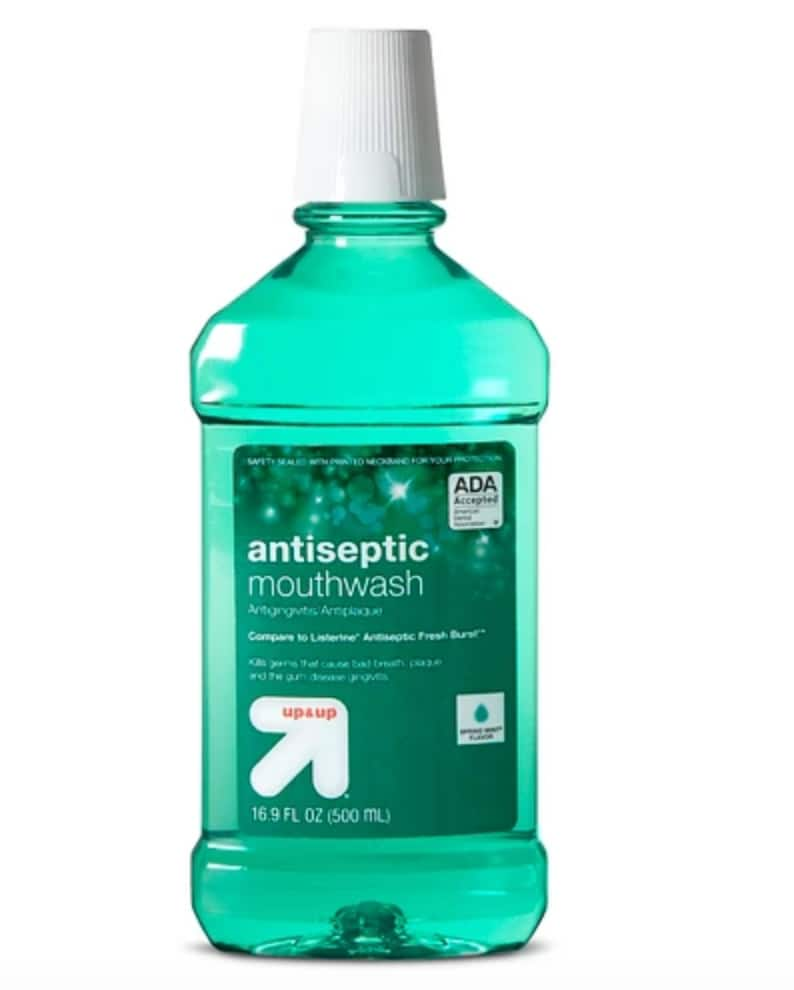 3-Ct of 500ml Up&Up Mouthwash (Spring Mint) + $5 Target GC $4.47 & More + Free Store Pickup @ Target