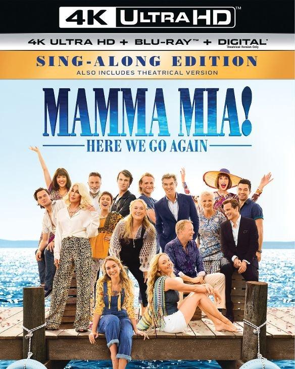 Mamma Mia! Here We Go Again (4K UHD + Blu-ray + Digital HD) $10.99 + Free Store Pickup @ Best Buy