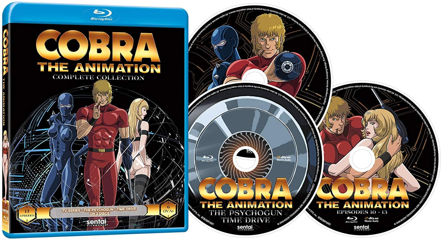 Cobra the Animation Complete Collection (Anime Blu-ray) $20.99 @ Amazon