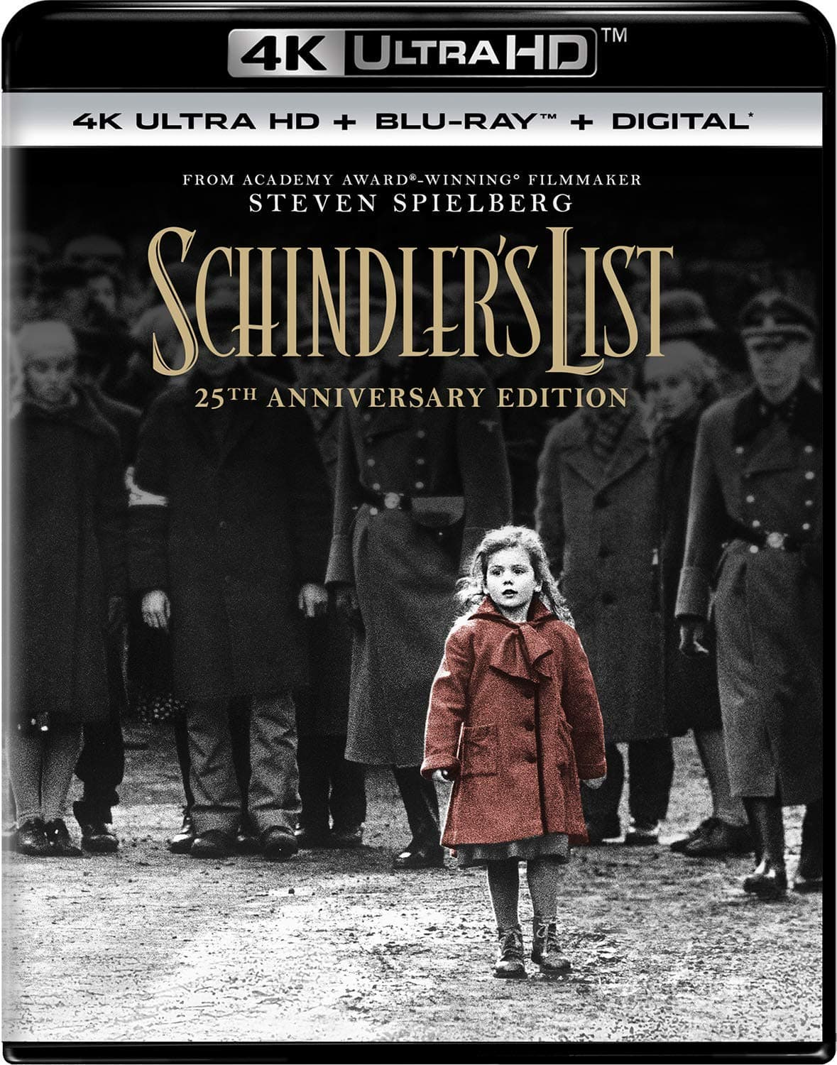 Amazon: 3 x $39.99 4K Movies: Schindler's List, How to Train Your Dragon, The Bridge on the River Kwai: 60th Anniversary, Cliffhanger & More + Free Shipping